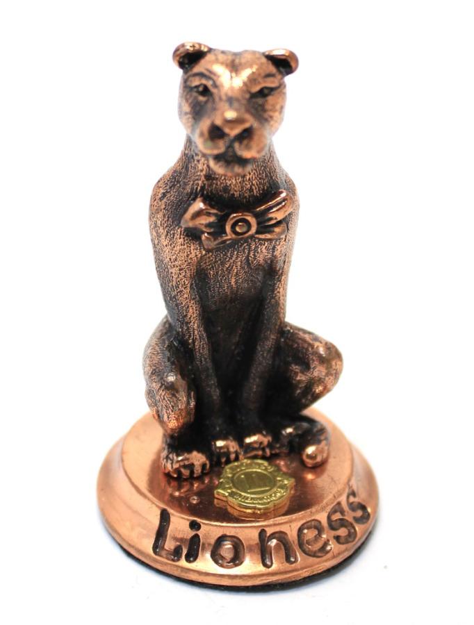 Фигурка «Lioness» (тяжелый металл, 6 см)