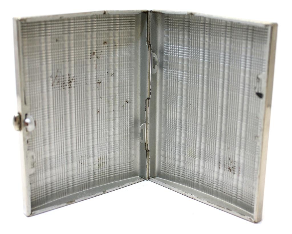 Портсигар (Артель «Санитас», г. Одесса), 10,5×8,5 см (Украина)