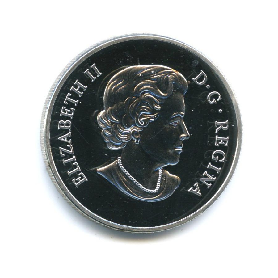 Жетон «25 cents 2013 - Robin, Canada»