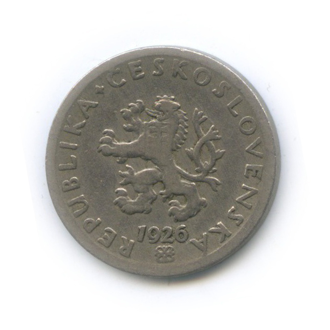 20 геллеров 1926 года (Чехословакия)