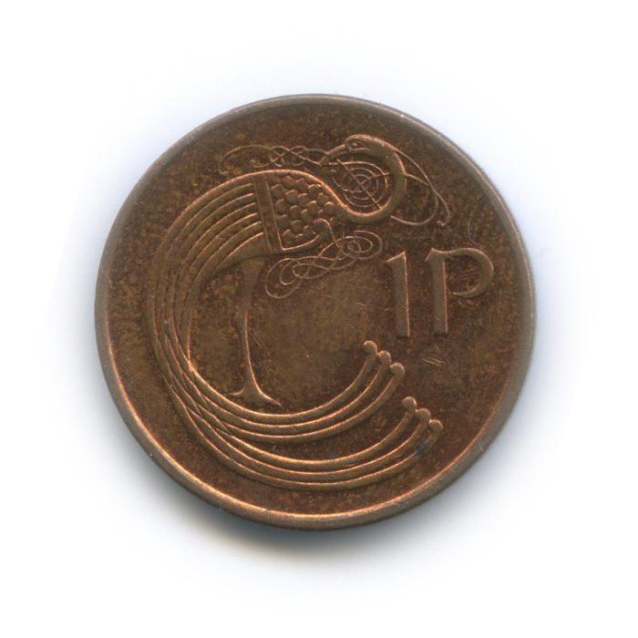 1 пенни 1966 года (Ирландия)