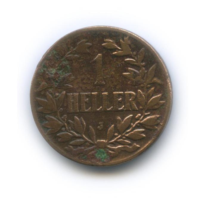 1 геллер, Немецкая Восточная Африка 1908 года