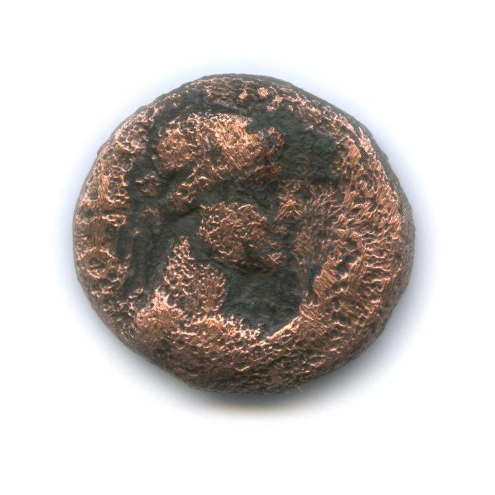 АЕтетрадрахма - Вима Такто, Кушанское царство, 80-100 гг.