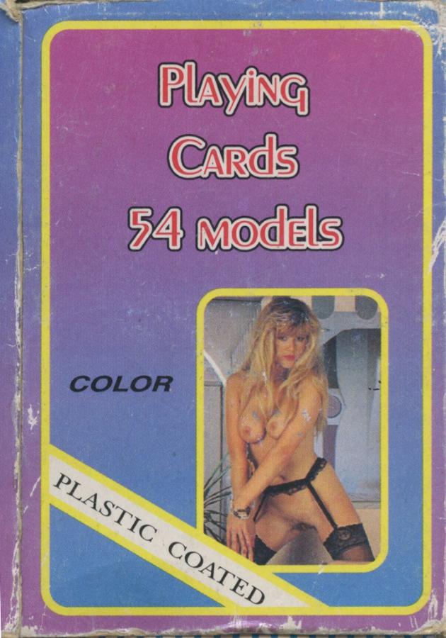 Карты игральные «Playing Cards 54 models»