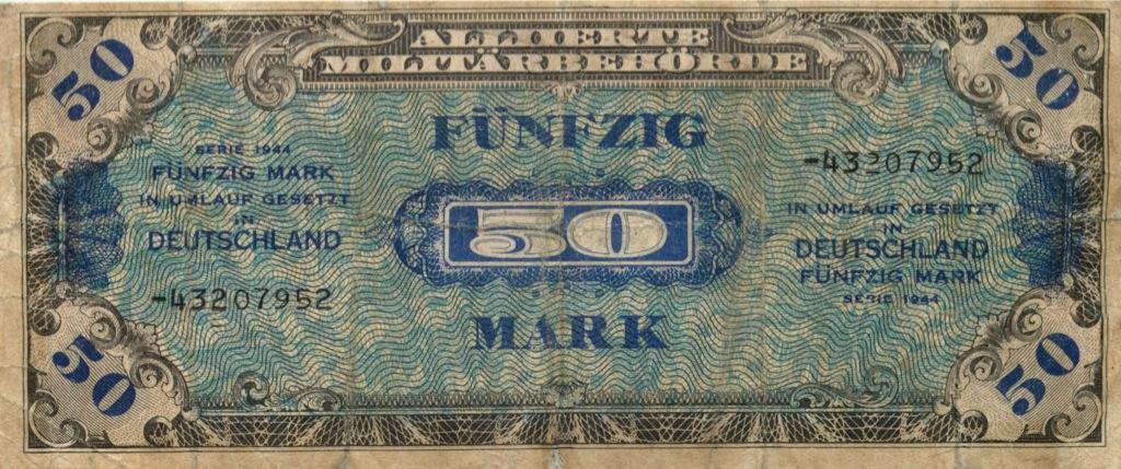 50 марок 1944 года (Германия)