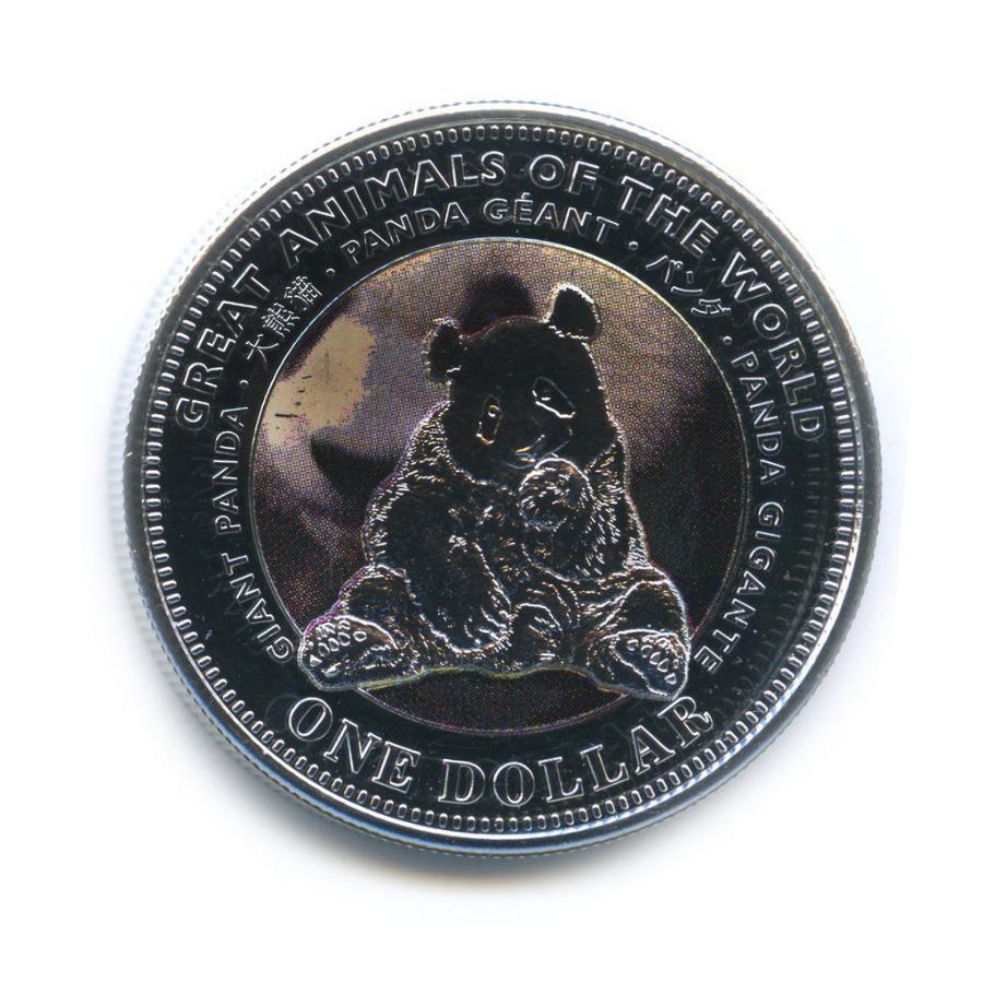 1 доллар — Великие животные мира - Панда 2009 года (Фиджи)