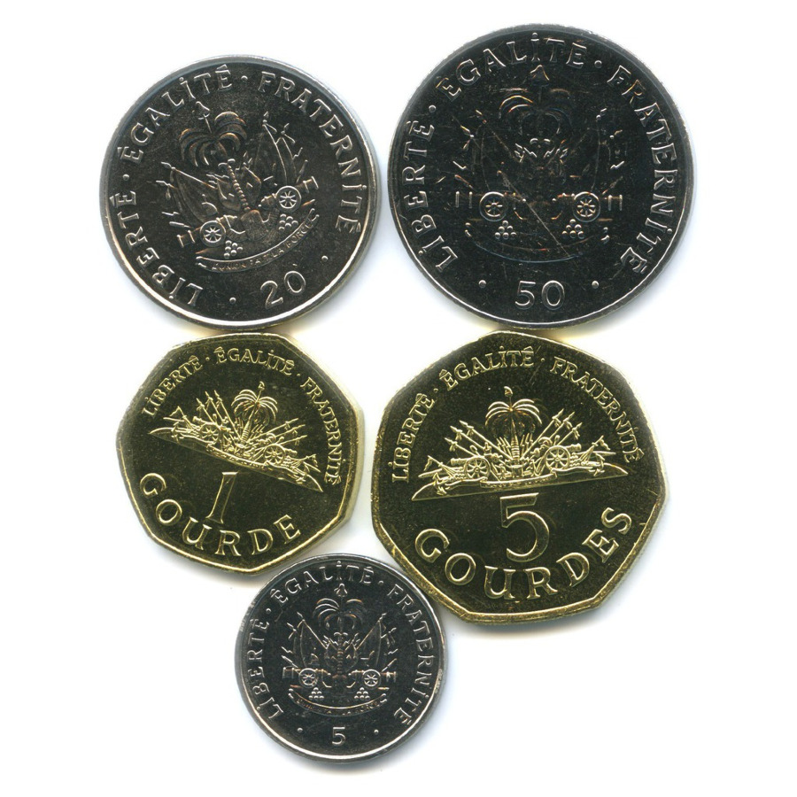 Набор монет - Республика Гаити