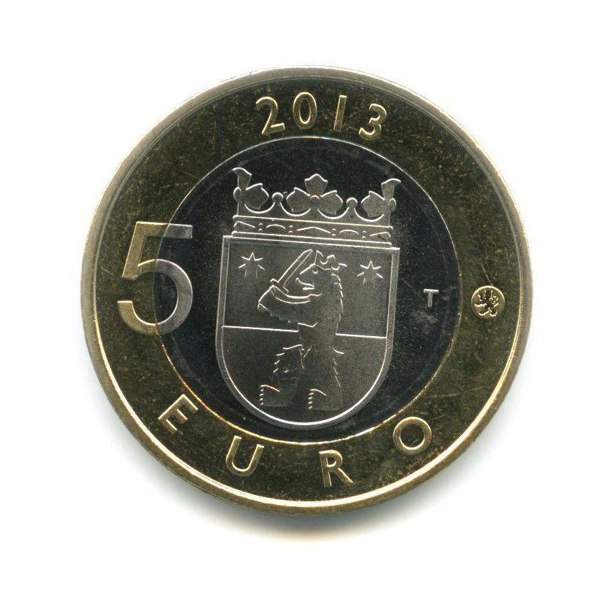 5 евро — Исторические регионы Финляндии. Строения - Сатакунта 2013 года (Финляндия)