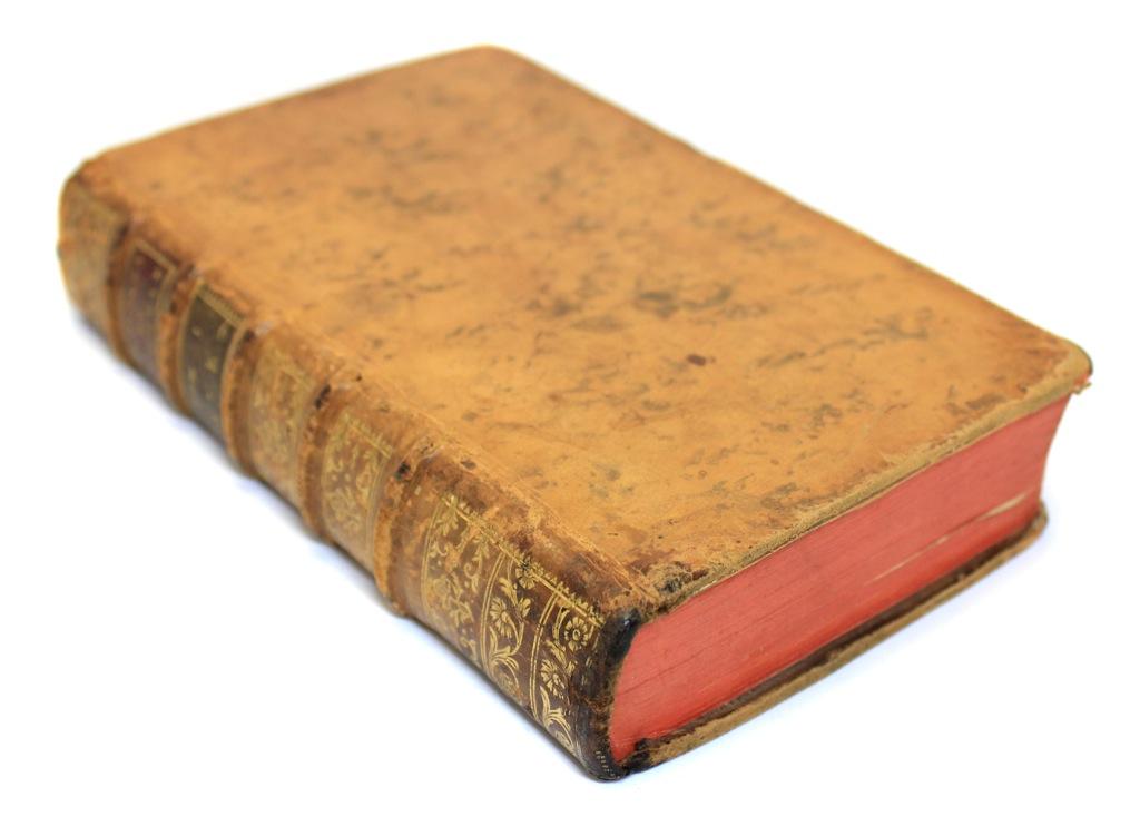 Портативный словарь французского языка, том I, Лион (615 стр.) 1780 года (Франция)