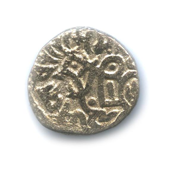 Драхма - Саманта Дева Шахи, 750-1000 гг. (Индия)
