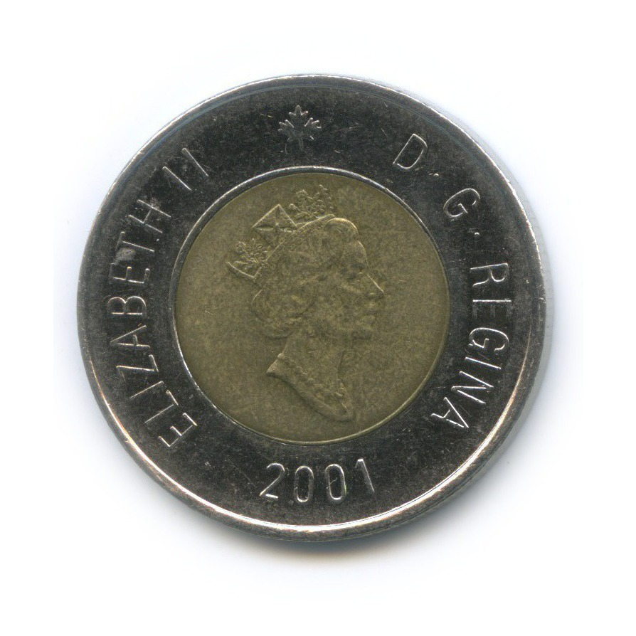 2 доллара 2001 года (Канада)