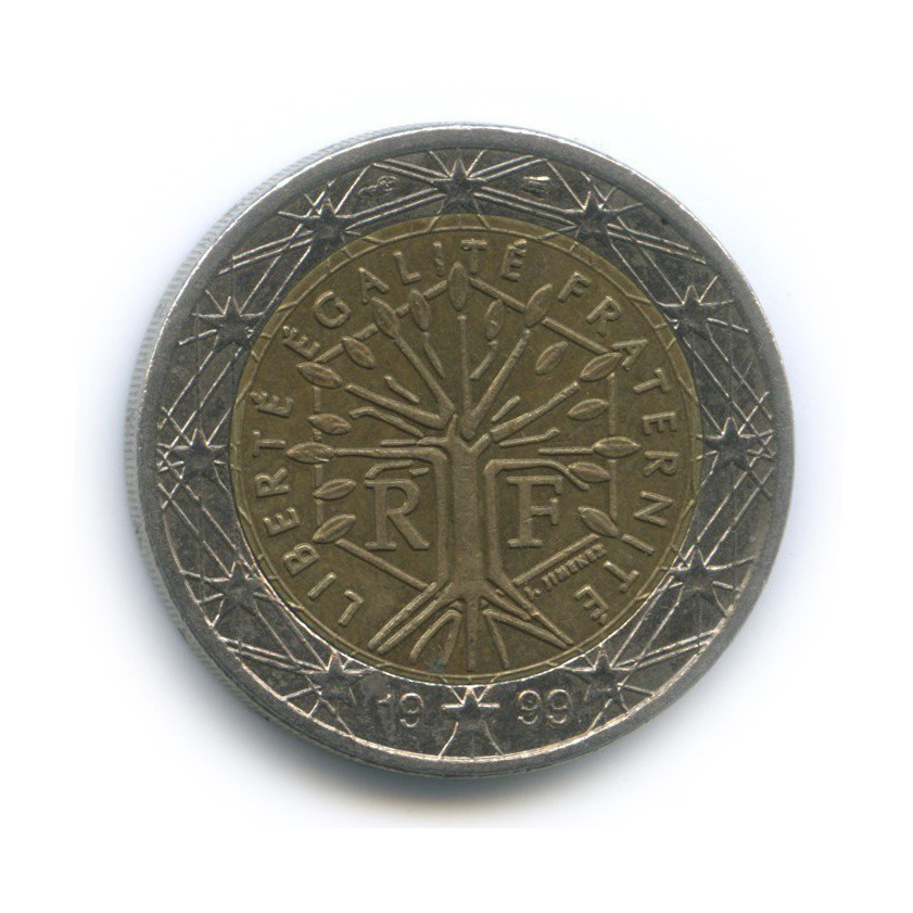 2 евро 1999 года (Франция)