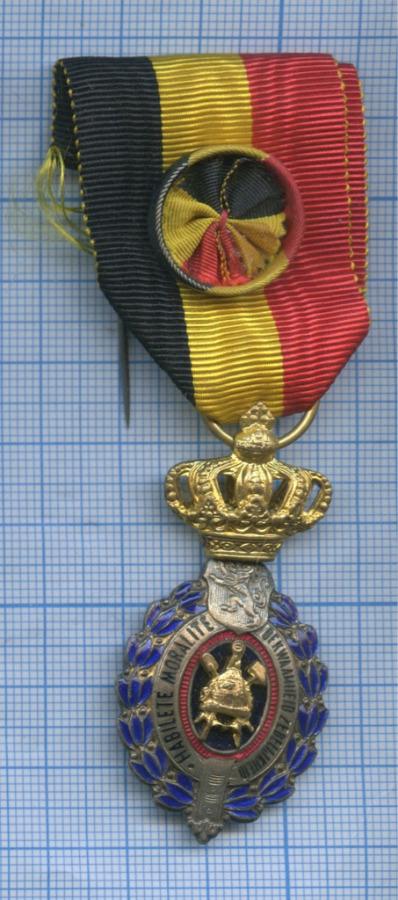 Медаль «Habilete Moralite - Bekwaamheid Zedelijkheid» (Германия)