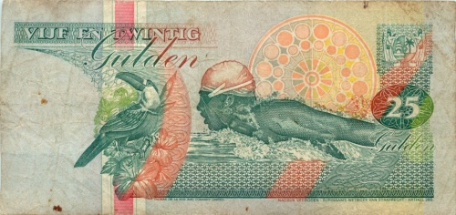25 гульденов (Суринам)