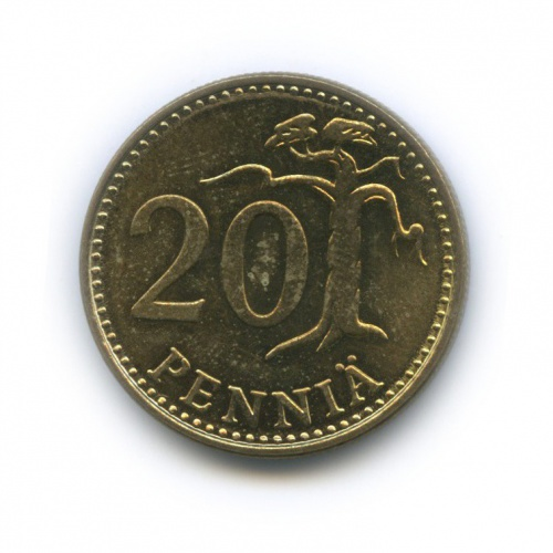 20 пенни 1979 года (Финляндия)