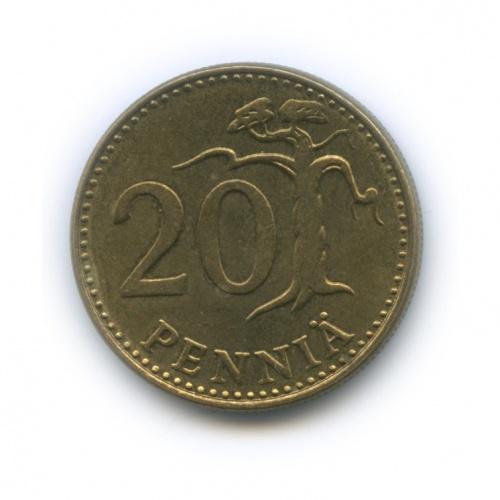 20 пенни 1981 года (Финляндия)