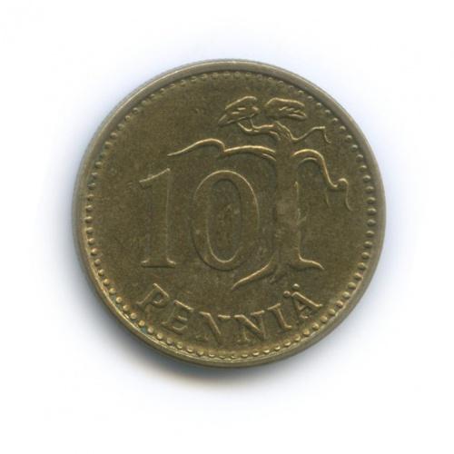 10 пенни 1976 года (Финляндия)
