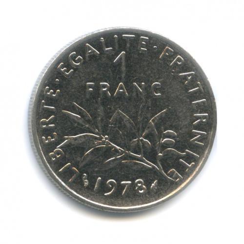 1 франк 1978 года (Франция)