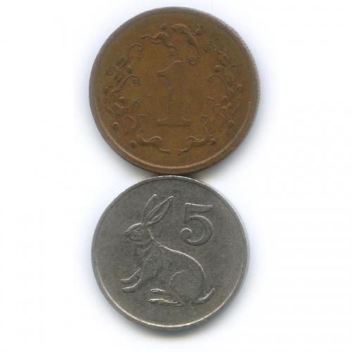 Набор монет, Зимбабве 1988 года