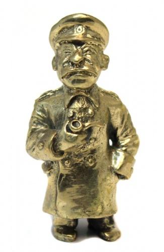Фигурка «Сталин» (бронза, 7,3 см)