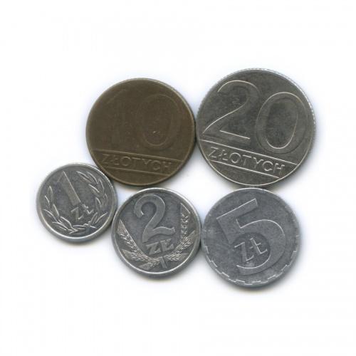 Набор монет 1989, 1990 (Польша)