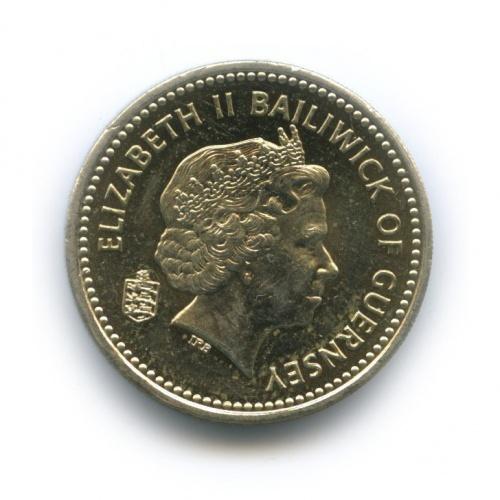 1 фунт, Гернси 2001 года