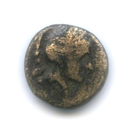 Фессалия (Фарсал), V в. до н. э., Афина/конь