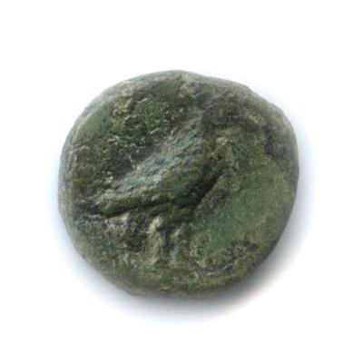 Эолида (Кимы), 350-250 гг. до н. э., орел/чаша