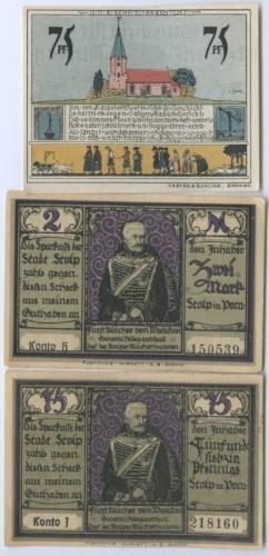 Набор банкнот (нотгельд) (Германия)