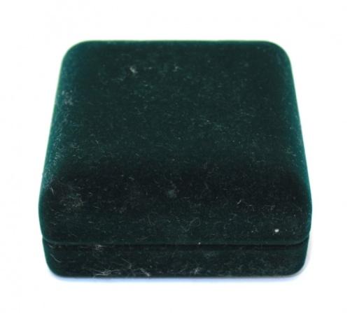 Футляр для монеты (бархат, диаметр 4,3 см, дефект - крепеж крышки поврежден) (Россия)