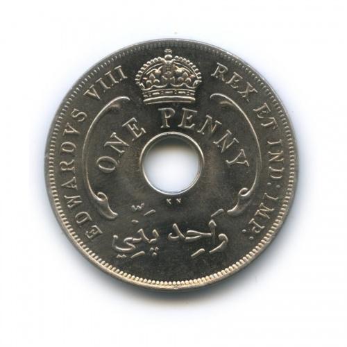 1 пенни, Британская Западная Африка 1936 года