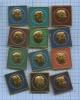 Набор значков «Чемпионы мира пошахматам» (СССР)