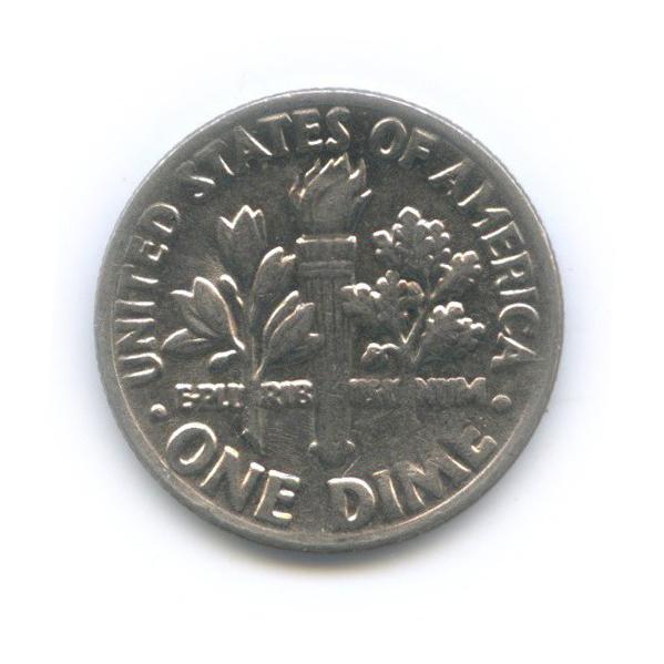 10 центов (дайм) 1985 года D (США)