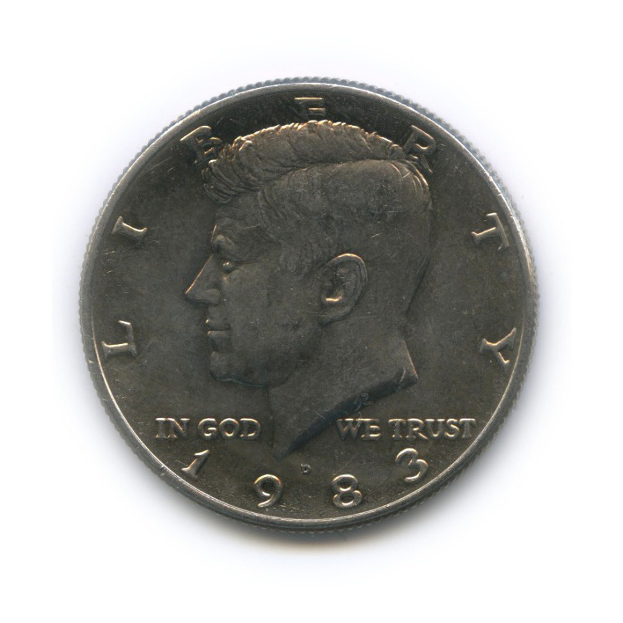 50 центов 1983 года D (США)