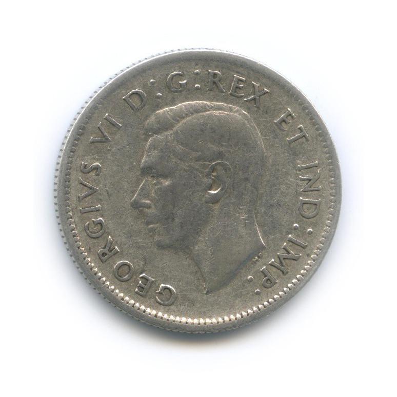 25 центов (квотер) 1939 года (Канада)
