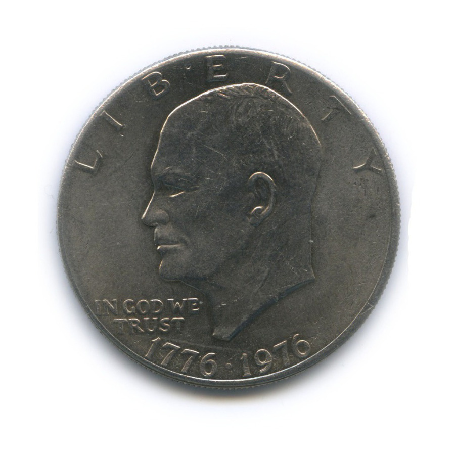 1 доллар — 200 лет независимости США 1976 года (США)