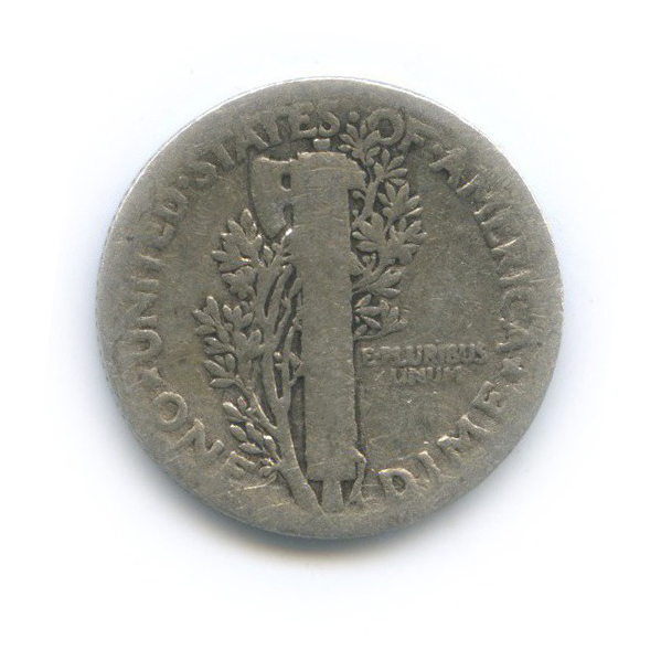 10 центов (дайм) 1923 года S (США)