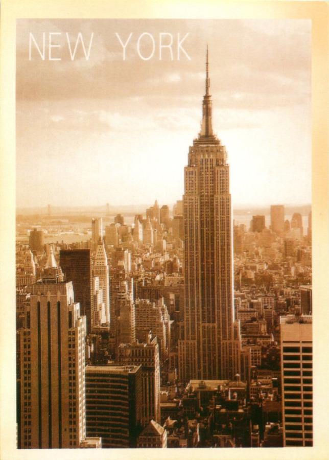 Карточка почтовая «Нью-Йорк» (копия)