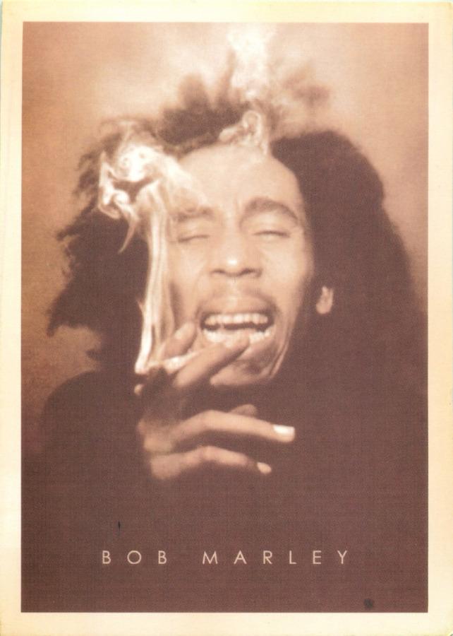 Карточка почтовая «Боб Марли» (копия)