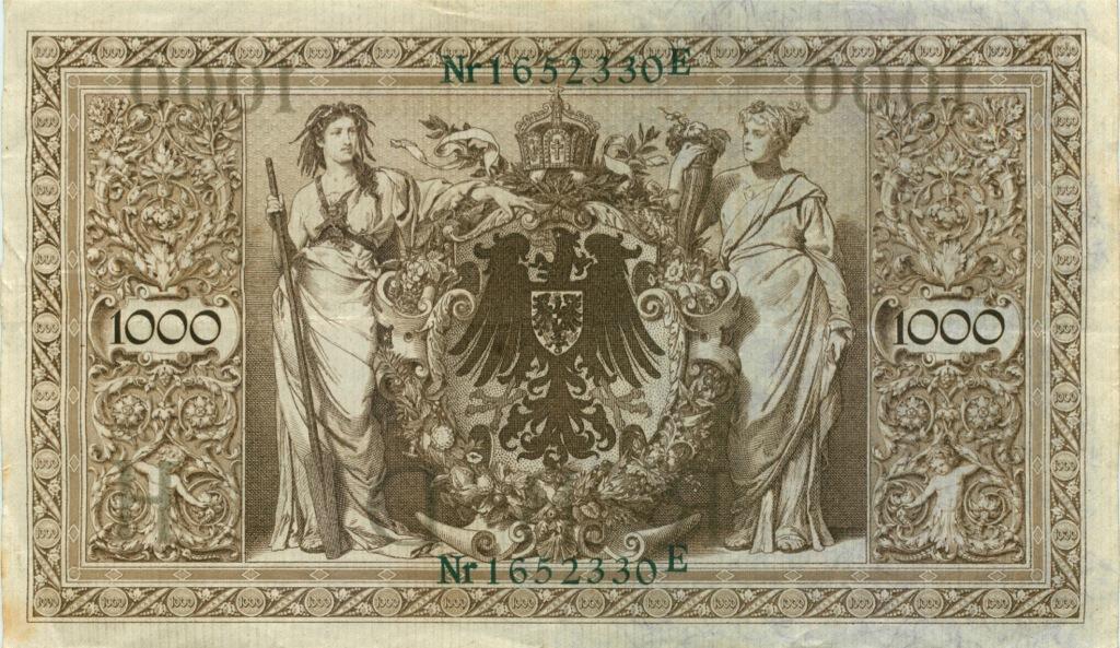 1000 марок 1910 года (Германия)