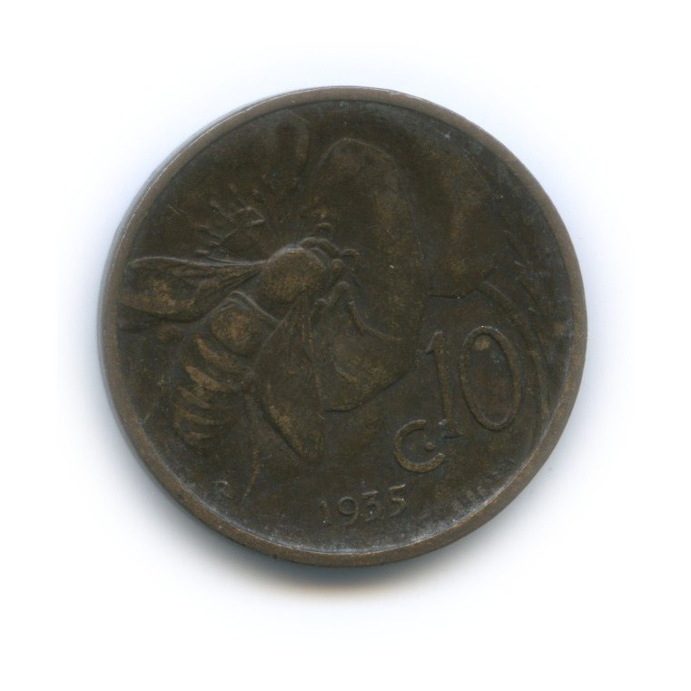 10 чентезимо 1935 года (Италия)