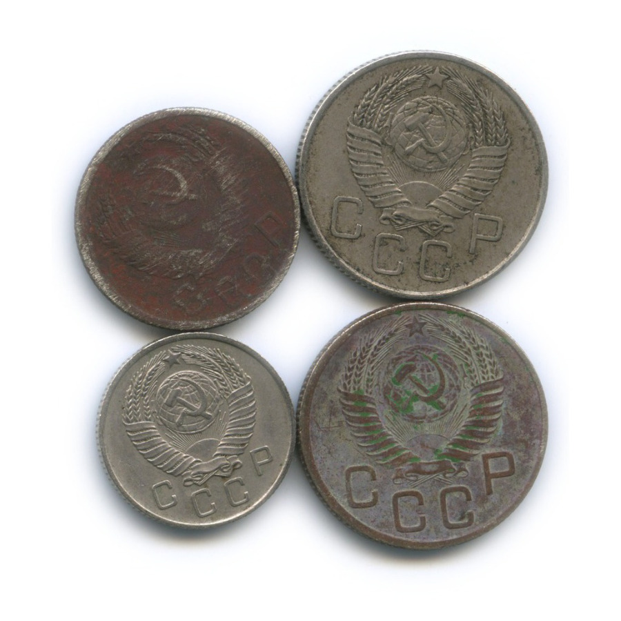 Набор монет СССР 1954, 1957 (СССР)