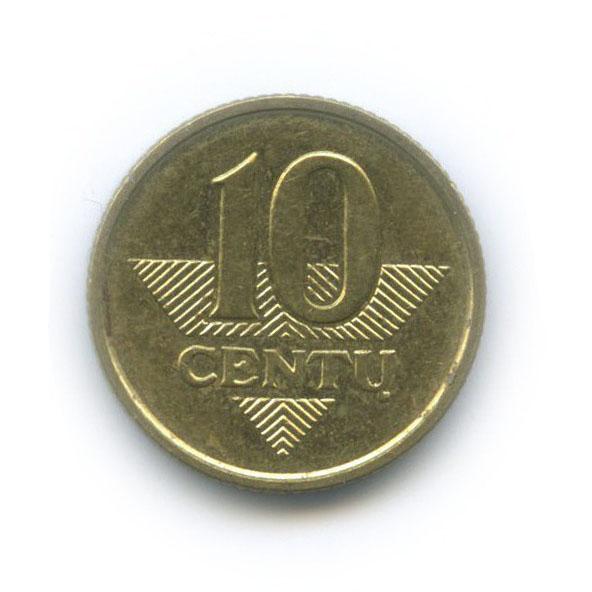 10 центов 2007 года (Литва)