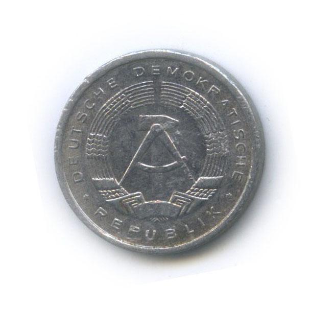 1 пфенниг 1980 года (Германия (ГДР))