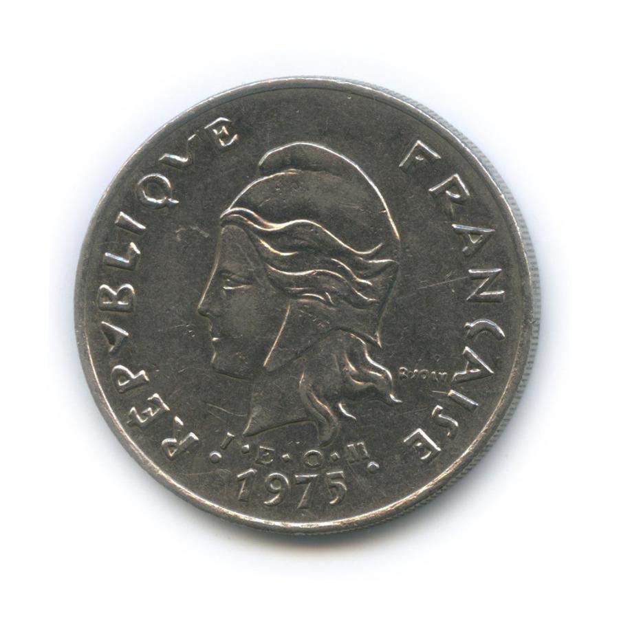 50 франков, Французская Полинезия 1975 года