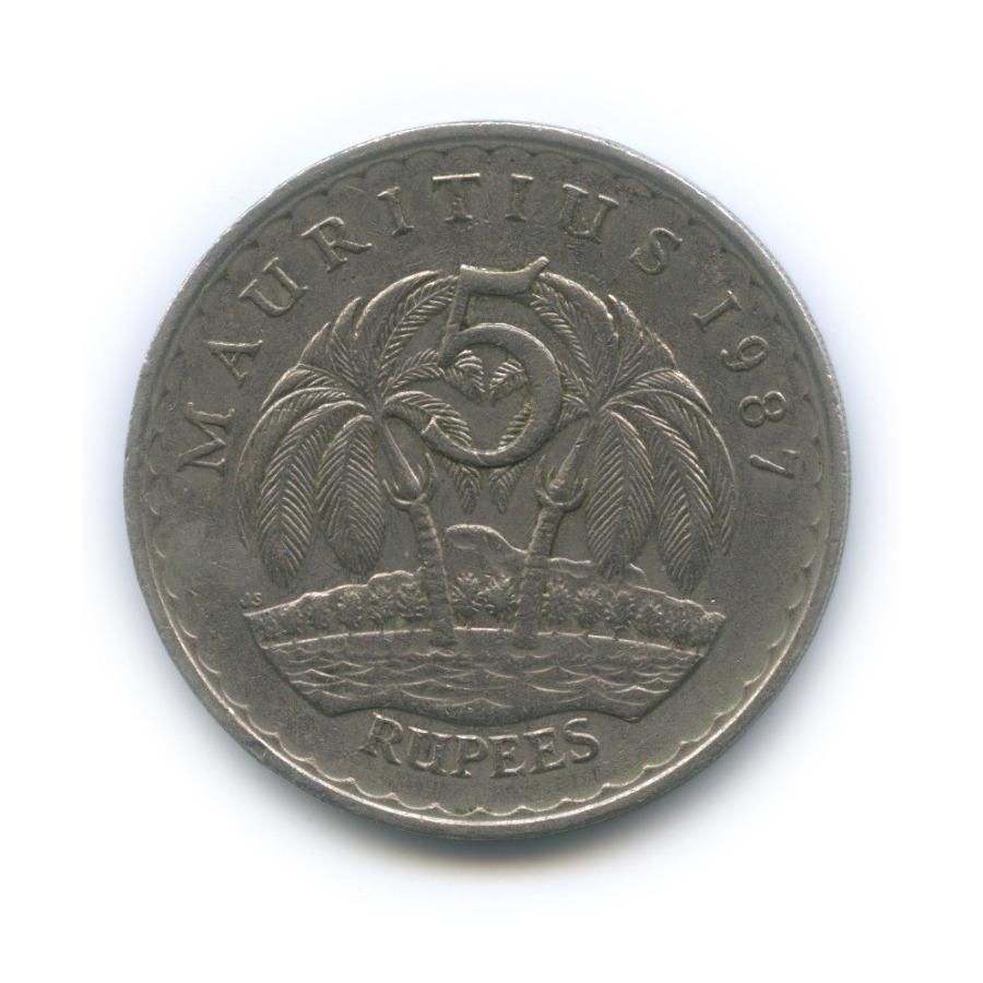 5 рупий 1987 года (Маврикий)