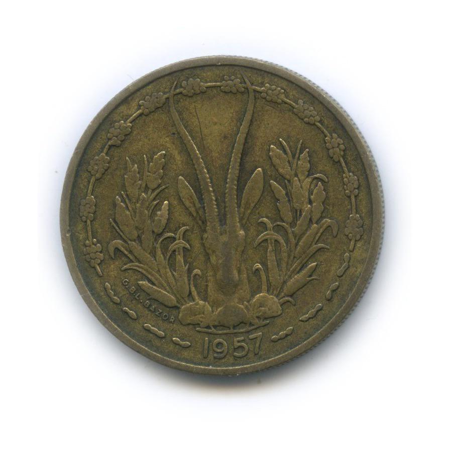 25 франков, Французская Западная Африка (Того) 1957 года