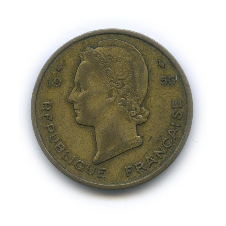 25 франков, Французская Западная Африка 1956 года