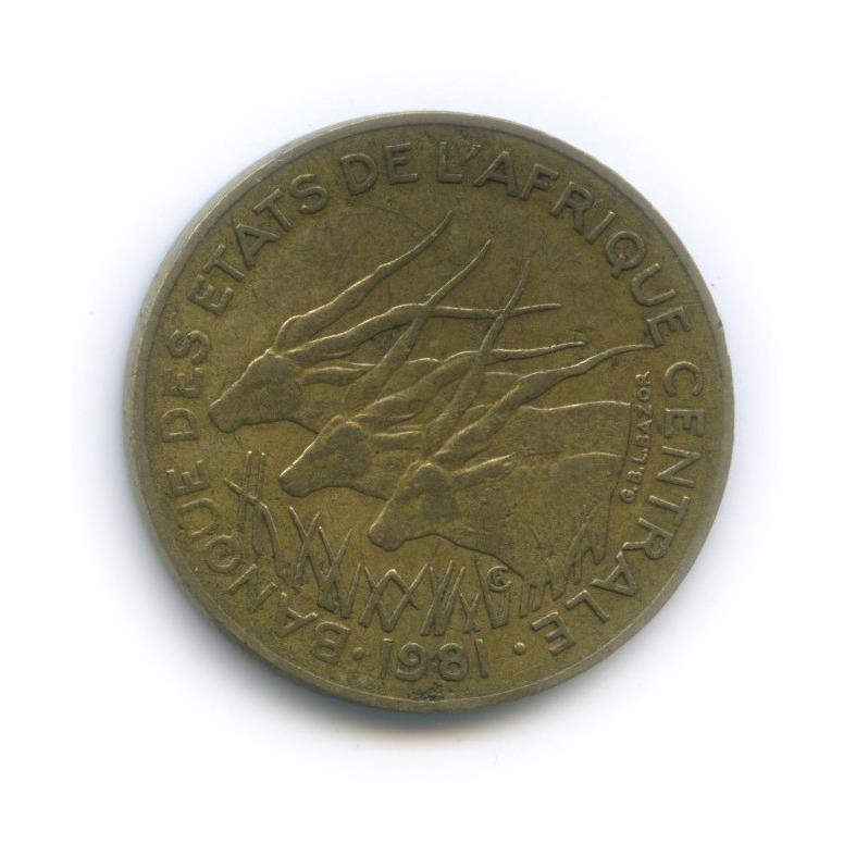 10 франков, Центральная Африка 1981 года