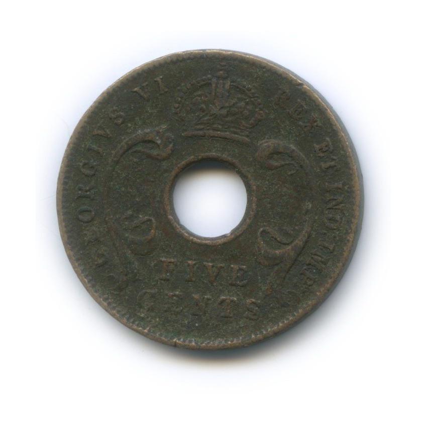 5 центов, Восточная Африка 1943 года